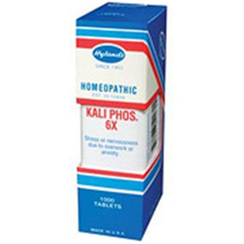 Kali Phosphoricum (Kali Phos) 6X 1000 tabs from Hylands (Hylands)