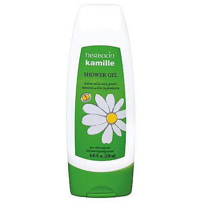 Kamille Extra Mild Shower Gel, 8.4 oz, Herbacin