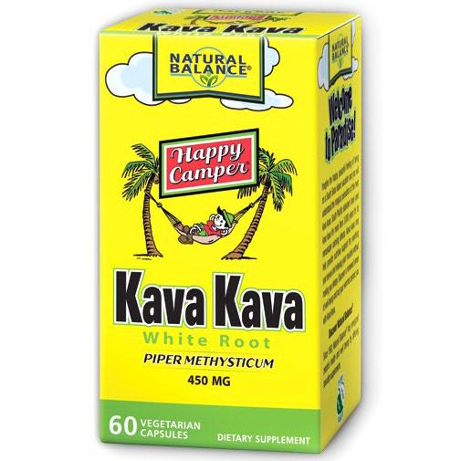 Kava Kava Root Extract, 450 mg, 60 Veggie Caps, Natural Balance