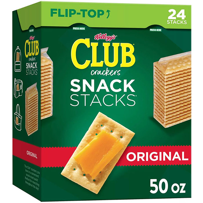 Keebler Club Crackers, Original, 16 oz x 2 ct