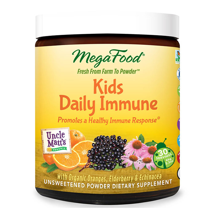 Kids Daily Immune, Nutrient Booster Powder, 30 Servings, MegaFood