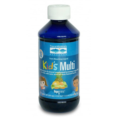 Kid's Multi Liquid, Citrus Punch Flavor, 8 oz, Trace Minerals Research ShopFest Money Saver