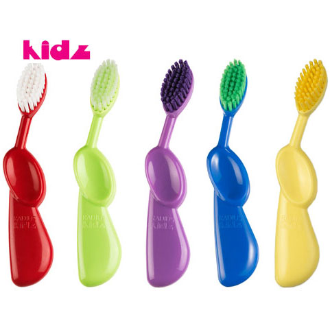 Kidz Right Hand Toothbrush for Kids, 1 Tooth Brush, Radius