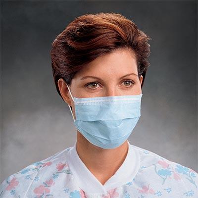 Kimberly-Clark Earloop Procedure Face Mask, Latex Free, 50 Masks/Box