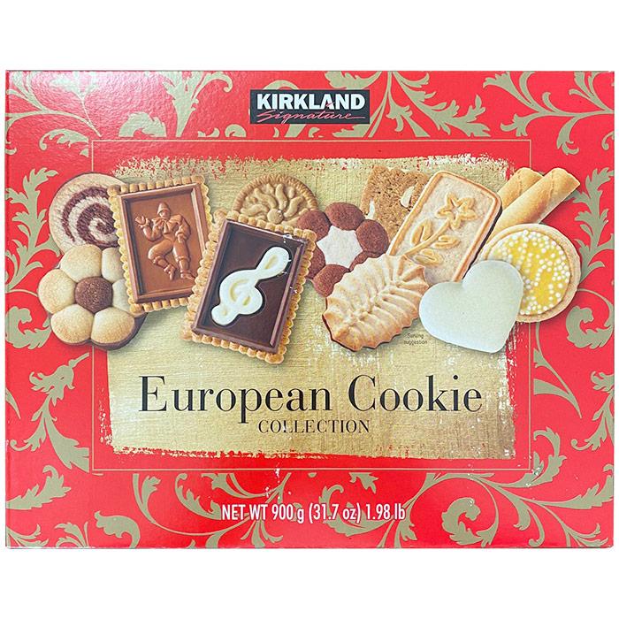 Kirkland Signature European Cookie Selection, 1 kg (2 lb 3.27 oz)