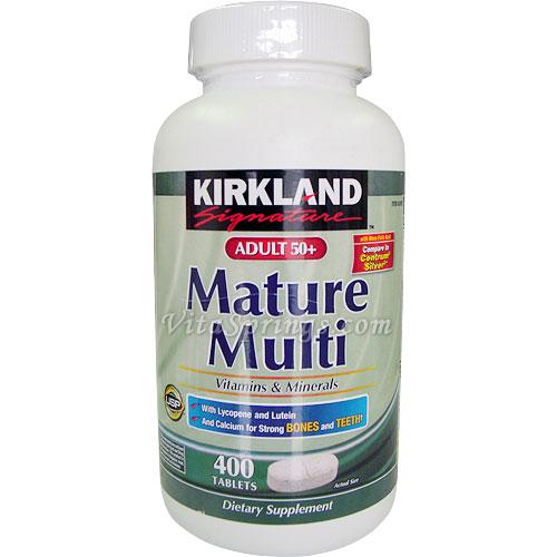 Kirkland mature multi vitamins
