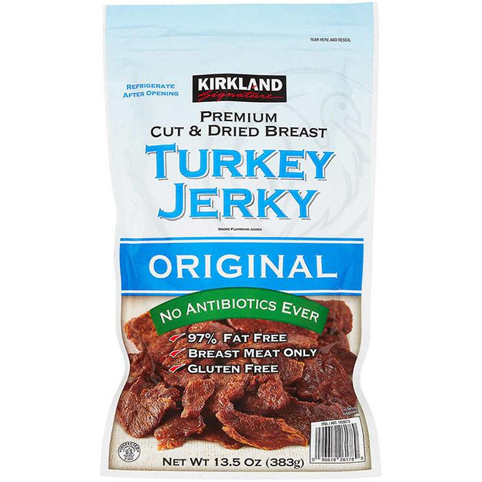 Kirkland Signature Turkey Jerky, Original, 13.5 oz (383 g)