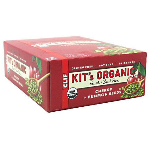Kits Organic, Fruit + Seed Bar, 1.7 oz x 12 Bars, Clif Bar