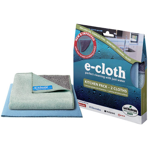 Kitchen Pack, 2 Cloths, E-cloth Cleaning Cloth