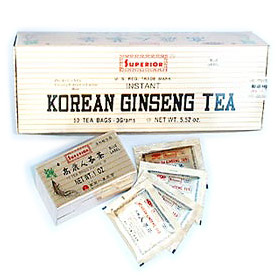 Korean Ginseng Tea 3 gm 30 tea bags, Chinese Imports