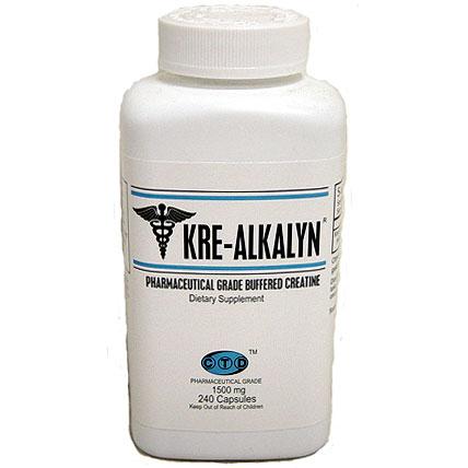 Kre-Alkalyn Creatine, 240 Capsules, CTD Labs