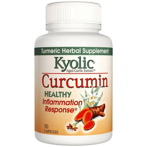 Kyolic Curcumin (Turmeric Plus Garlic), 100 Capsules, Wakunaga
