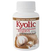 Kyolic Reserve A.G.E, Aged Garlic Extract 600mg, 120 caps, Wakunaga Kyolic