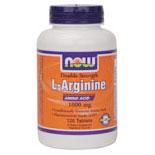 L Arginine 1000 Free Form Vegetarian 120 Tabs, NOW Foods