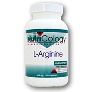 L-Arginine 500mg 100 caps from NutriCology