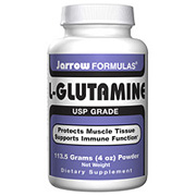 L-Glutamine Powder 4 oz (113.5 gm), Jarrow Formulas