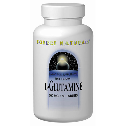 L-Glutamine 500mg 100 caps from Source Naturals