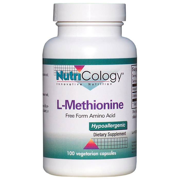 L-Methionine 500mg 100 caps from NutriCology
