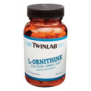 L-Ornithine 500mg 100 caps from Twinlab