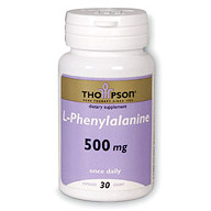 L-Phenylalanine 500mg 30 caps, Thompson Nutritional Products