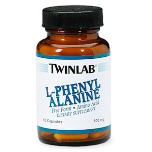 L-Phenylalanine 500mg 60 caps from Twinlab