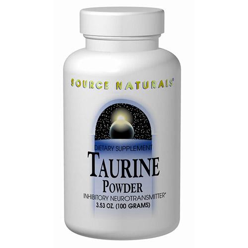 L-Taurine Powder 100gm 3.53 oz from Source Naturals