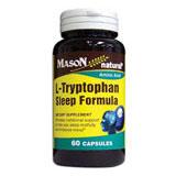 L-Tryptophan Sleep Formula, 60 Capsules, Mason Natural