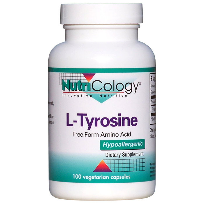 L-Tyrosine 500mg 100 caps from NutriCology