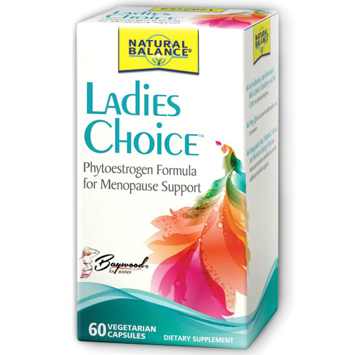 Ladies Choice Menopause Formula, 60 Vegetarian Capsules, Natural Balance