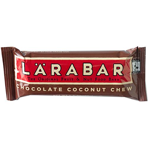 Larabar Original Fruit & Nut Food Bar, Chocolate Coconut Chew, 1.8 oz x 16 Bars
