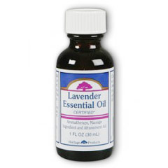Lavender Essential Oil, 1 oz, Heritage Products