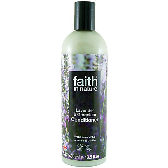 Lavender & Geranium Conditioner, 13.5 oz, Faith in Nature