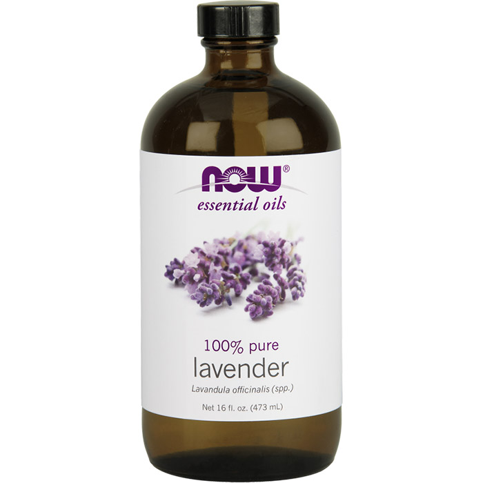 Lavender Oil, 16 oz, NOW Foods