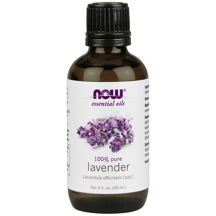 Lavender Oil, 2 oz, NOW Foods