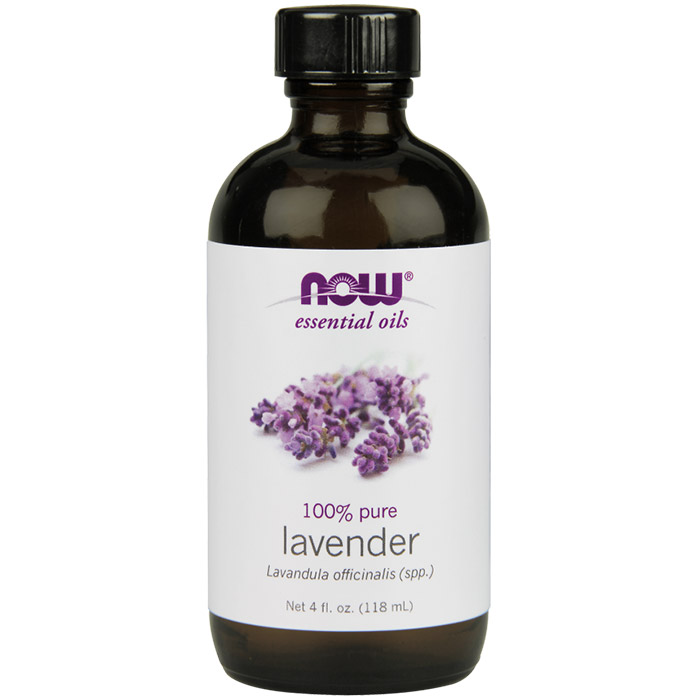 Lavender Oil, 4 oz, NOW Foods