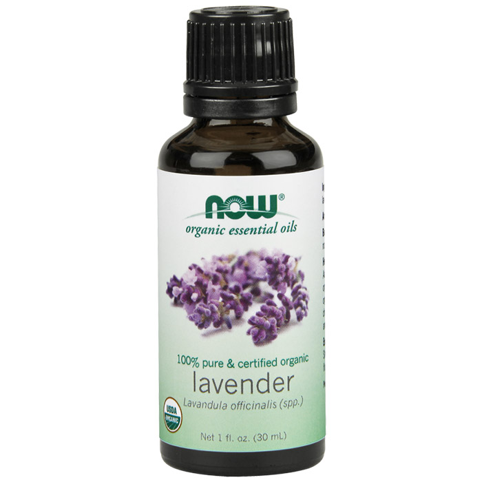 Lavender Oil, Organic Essential Oil 1 oz, NOW Foods