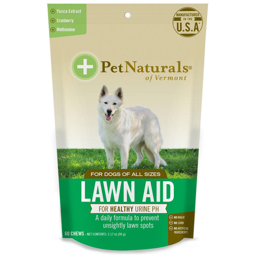 Lawn Aid For Dogs, 60 Soft Chews, Pet Naturals of Vermont