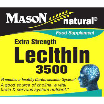 Extra Strength Lecithin 3500, 60 Softgels, Mason Natural