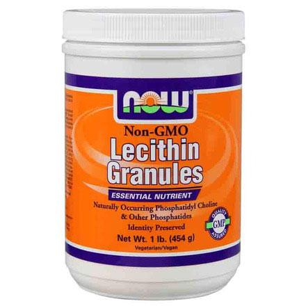 Lecithin Granules Non-GMO, 1 lb, NOW Foods