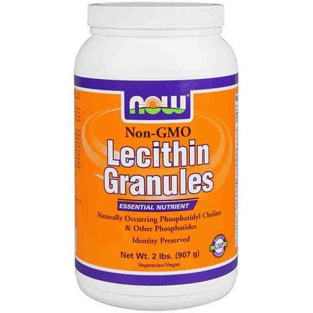 Lecithin Granules Non-GMO, 2 lb, NOW Foods