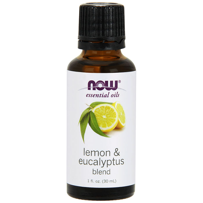 Lemon-Eucalyptus Oil, Essential Oil 1 oz, NOW Foods