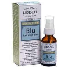 Liddell Letting Go Postpartum Blues Homeopathic Spray, 1 oz