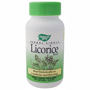 Licorice Root 100 caps from Natures Way