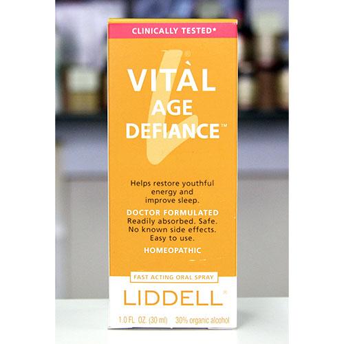 Liddell Vital Age Defiance (Vital HGH Spray with Human Growth Hormone) 1 oz