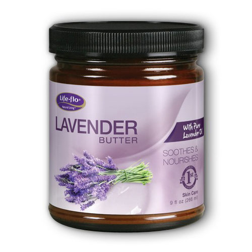Life-Flo Lavender Butter Skin Care Cream, 9 oz, LifeFlo