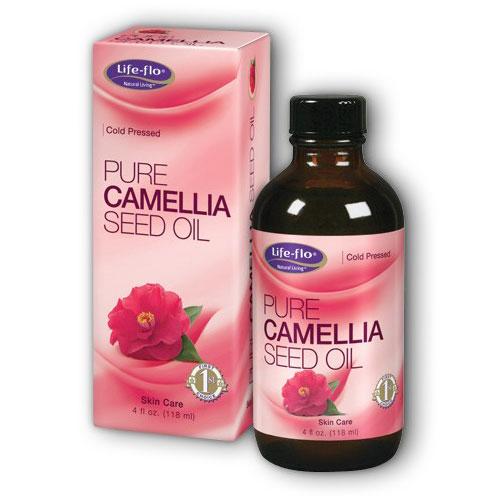 Life-Flo Pure Camellia Seed Oil, 4 oz, LifeFlo