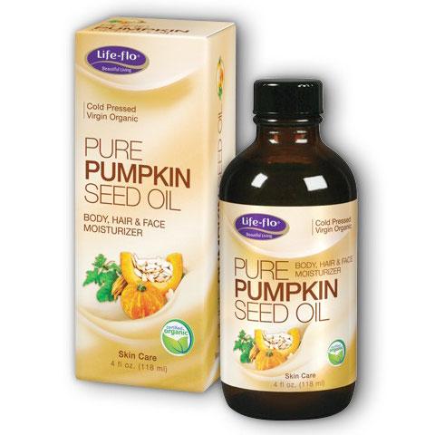 Life-Flo Pure Organic Pumpkin Seed Oil, 4 oz