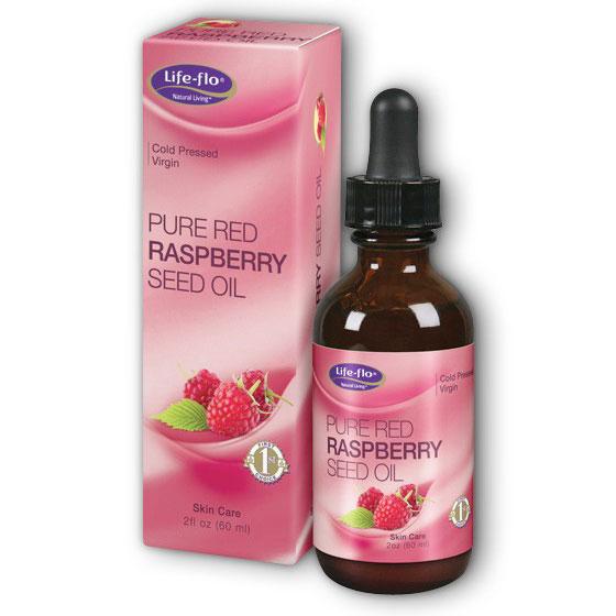 Life-Flo Pure Red Raspberry Seed Oil, 2 oz, LifeFlo