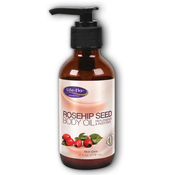 Life-Flo Rosehip Seed Body Oil, 4 oz, LifeFlo