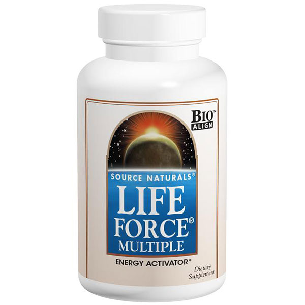 Life Force Multiple Tablets 90 tabs from Source Naturals
